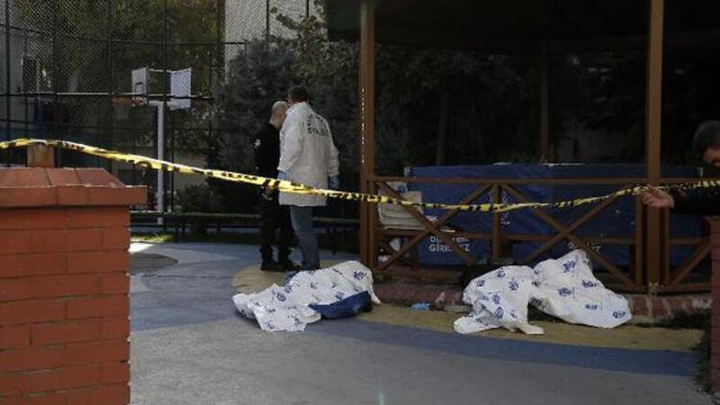 Beyoğlu'nda parkta ölü bulundu