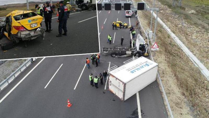 Kuzey Marmara Otoyolu'ndaki trafik kazasında 2 kişi öldü, 1 kişi yaralandı