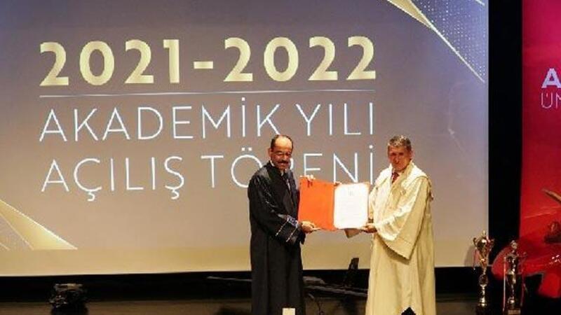 Cumhurbaşkanlığı Sözcüsü İbrahim Kalın'a fahri doktora unvanı verildi