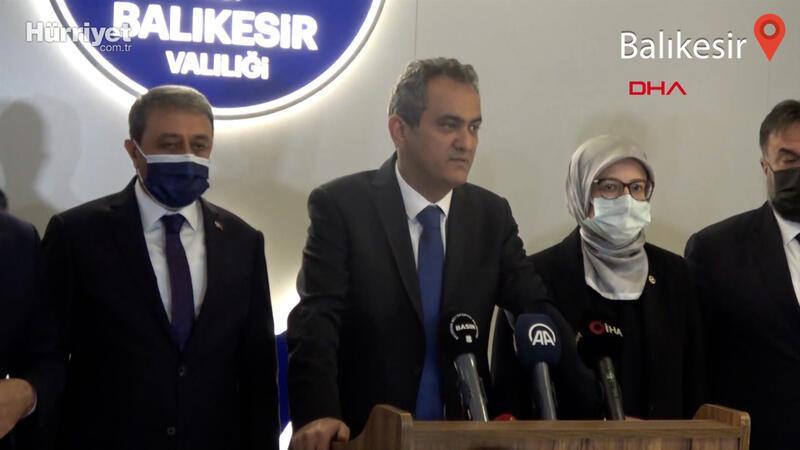 Milli Eğitim Bakanı Mahmut Özer, Balıkesir'de açıklamalarda bulundu