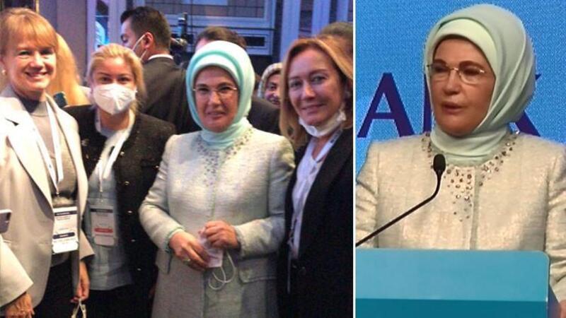 Emine Erdoğan: Kalkınma ancak kadınların hem ekonomik hem de sosyal olarak güçlenmesiyle mümkündür