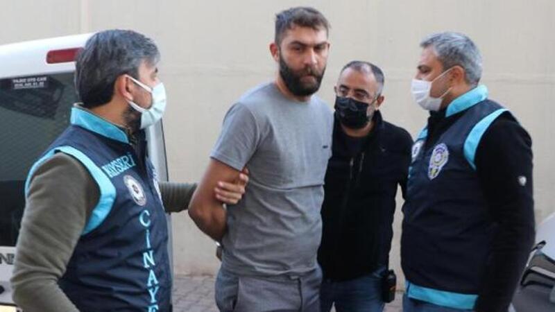 Kayseri'de tartıştığı ağabeyini silahla öldüren zanlı yakalandı
