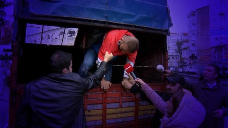 İstanbul Adliyesi'nden firar etti! Kamyonet kasasında yakalandı
