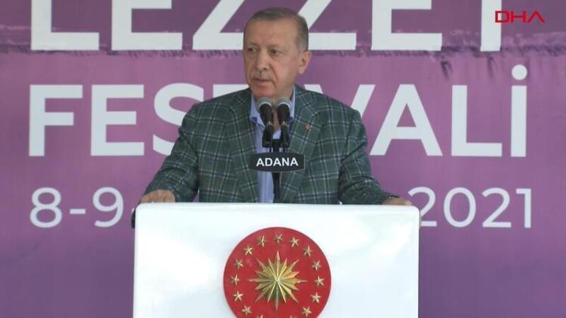 """Cumhurbaşkanı Erdoğan, """"5. Uluslararası Adana Lezzet Festivali Açılış Töreni""""nde açıklamalarda bulundu"""