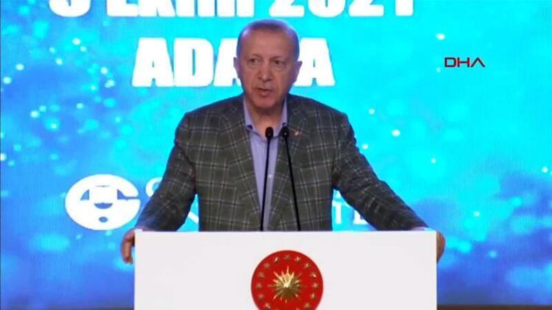 Cumhurbaşkanı Erdoğan Adana'da toplu açılış programında açıklamalarda bulundu