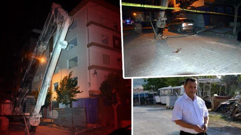 Avcılar'da ihmal iddiası: iş makinesinin devirdiği beton direk can aldı