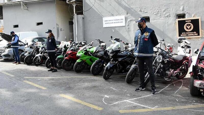 İzmir'de çalıntı araçlarla hırsızlık yapan şebekeye operasyon