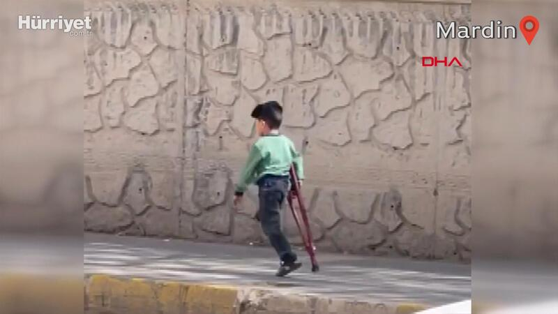 3 yaşındaki Muhammet için protez bacak siparişi verildi