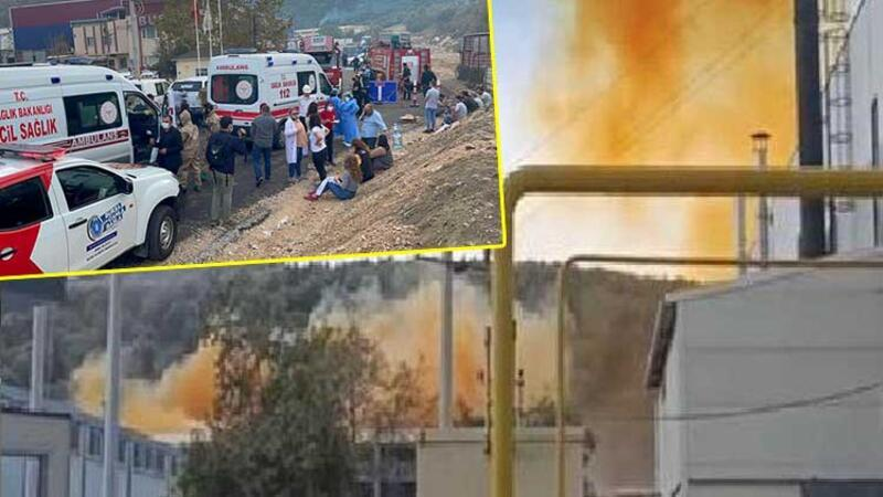 Bursa'da kimya fabrikasında patlama
