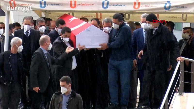 Cumhurbaşkanı Erdoğan İsmet Uçma'nın cenaze törenine katıldı