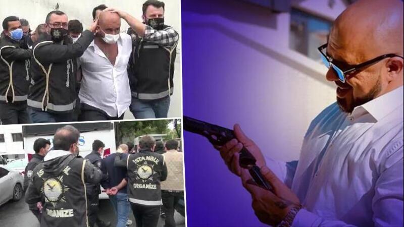 'Lions-Cartel' suç örgütü lideri Ahmadi ile 5 çete üyesi adliyeye sevk edildi