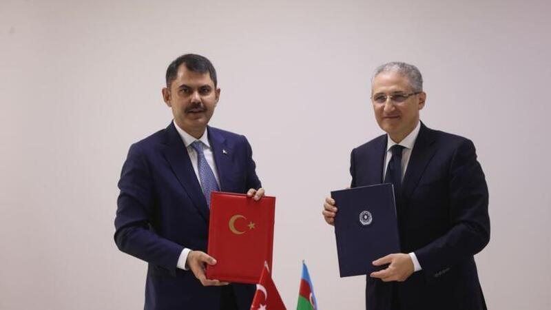 Türkiye ile Azerbaycan arasında çevre koruma alanında çalışma programı imzalandı