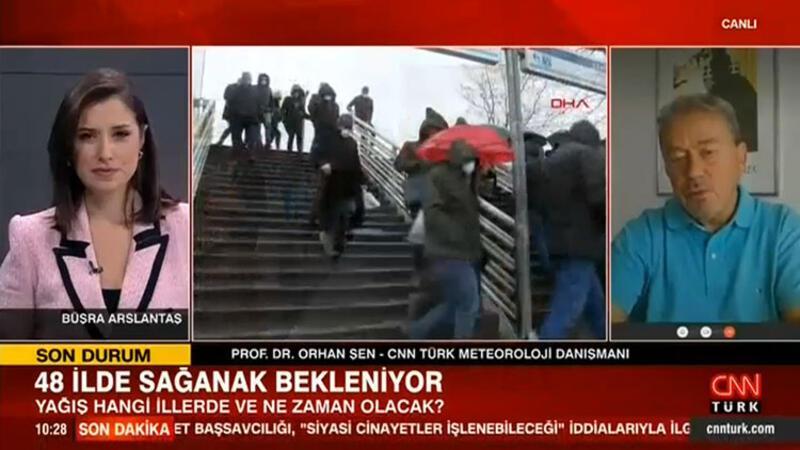 İstanbul, Ankara, İzmir dahil 48 kent için sağanak alarmı! Peş peşe uyarılar