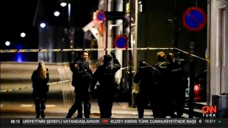 Norveç'te oklu saldırgan dehşeti