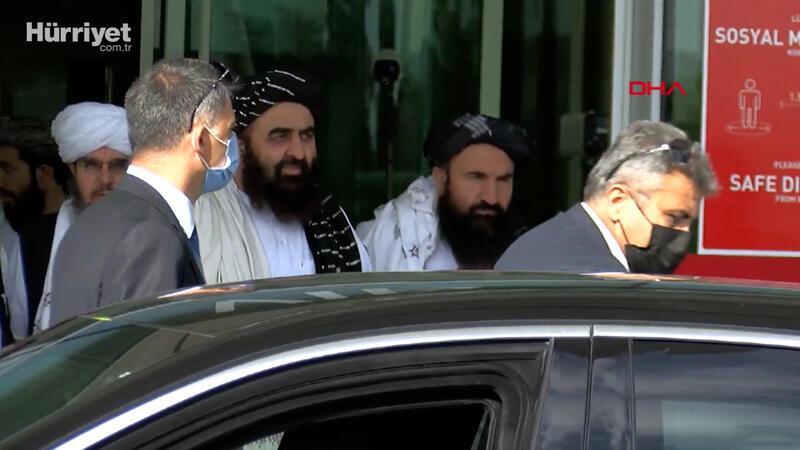 Taliban heyeti Ankara'da temaslardabulundu