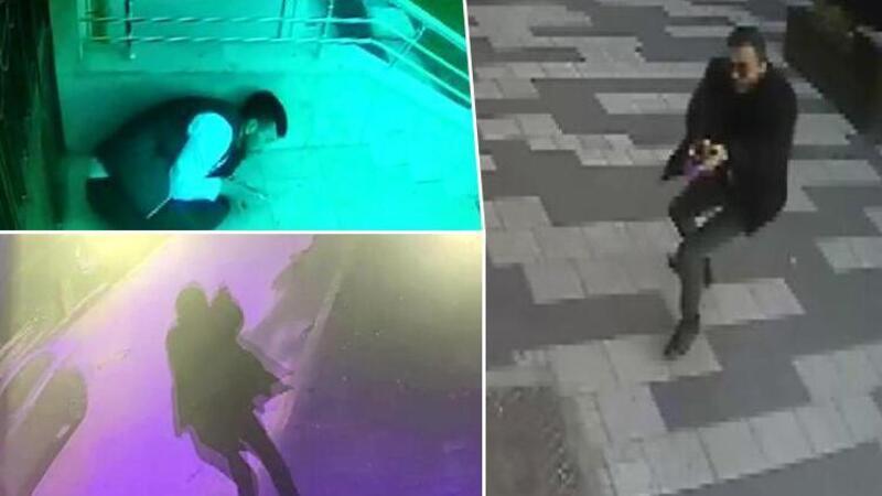 Yolda yürüyen Semih'in vurulduğu çatışmanın görüntüleri ortaya çıktı