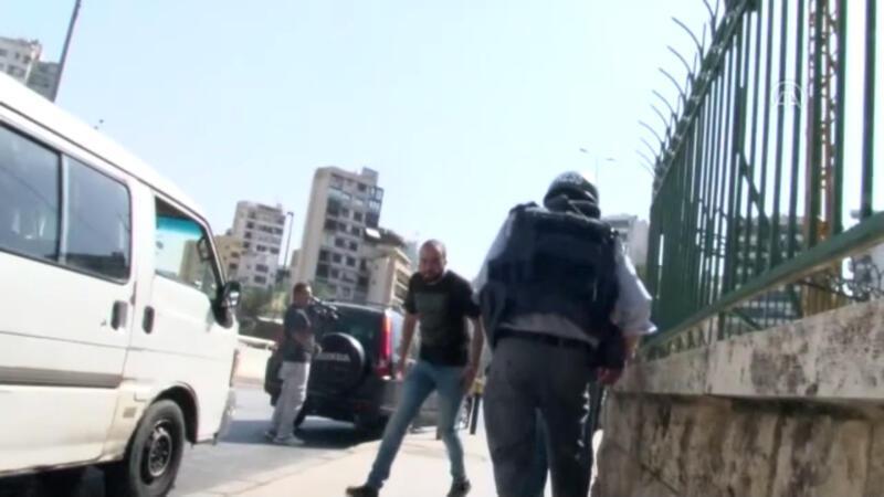Lübnan'ın başkenti Beyrut'ta çatışma