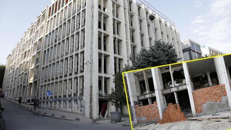 Hırsızların hedefi olan Reza Zarrab'ın eski holding binasına duvarlı önlem