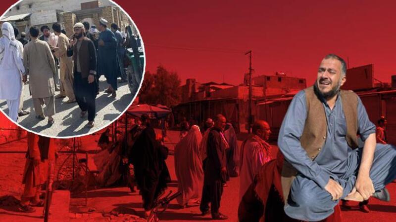 Afganistan'da camiye bombalı saldırı! İlk görüntüler