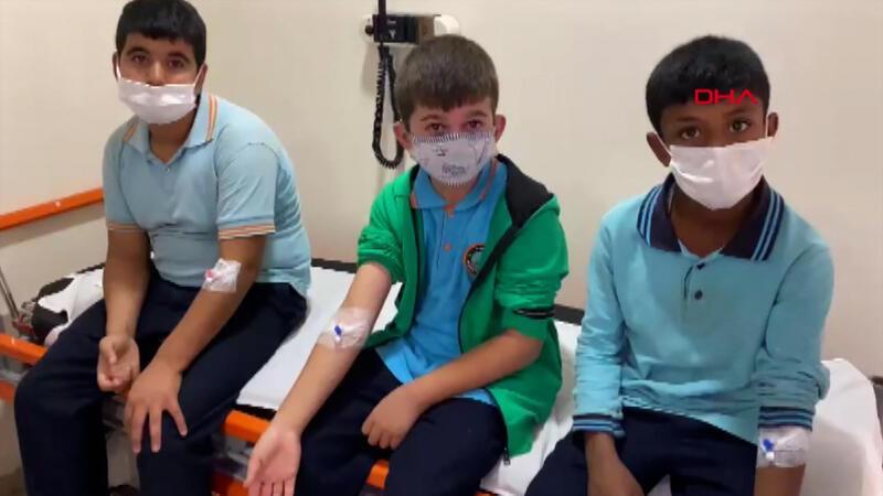 Tavuk sote ve pilav yiyen 29 öğrenci hastanelik oldu