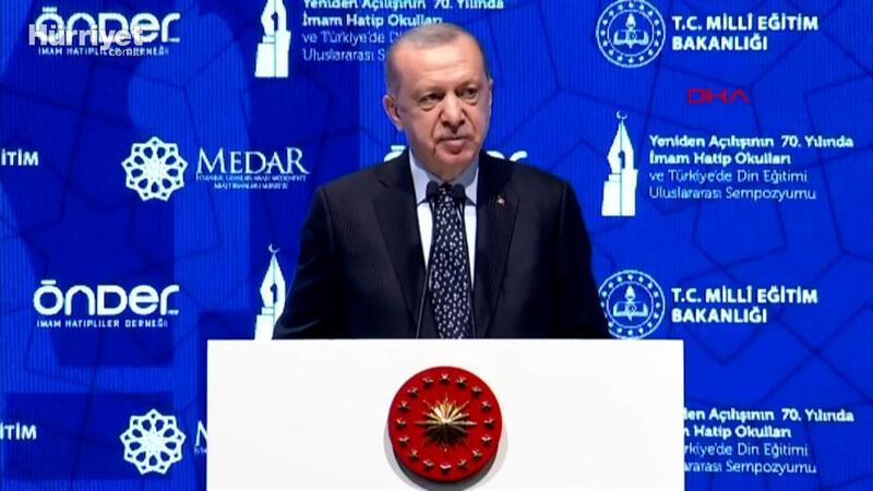 Cumhurbaşkanı Erdoğan: İmam hatiplerin fetret dönemini biz bitirdik