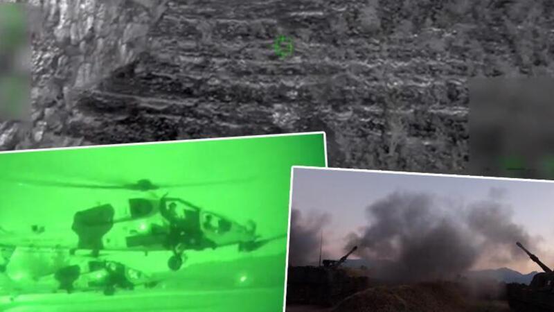Irak'ın kuzeyinde terör operasyonu! 4 PKK'lı terörist etkisiz hâle getirildi