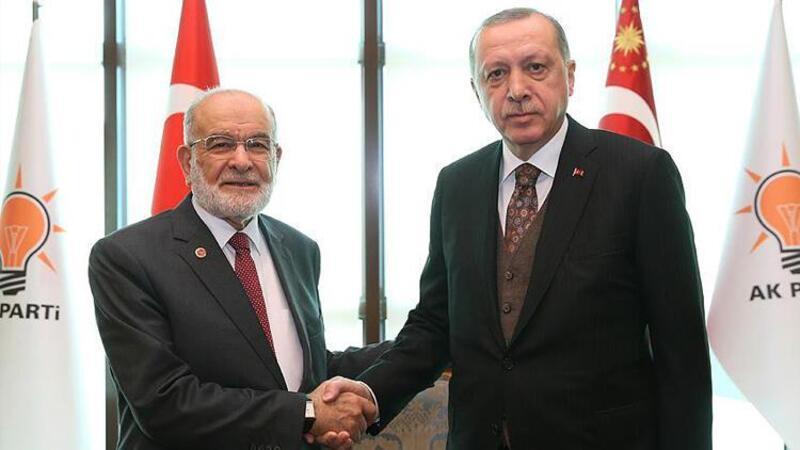 Cumhurbaşkanı Erdoğan, Karamollaoğlu ile görüşecek mi?