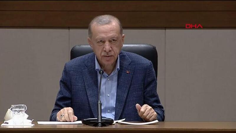 Cumhurbaşkanı Erdoğan, Luanda'ya hareketi öncesinde basın mensuplarının sorularını yanıtladı