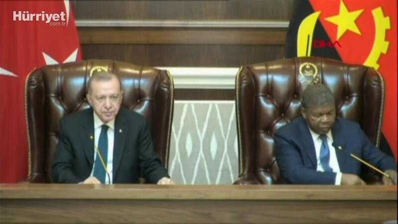 Cumhurbaşkanı Erdoğan, Angola'da
