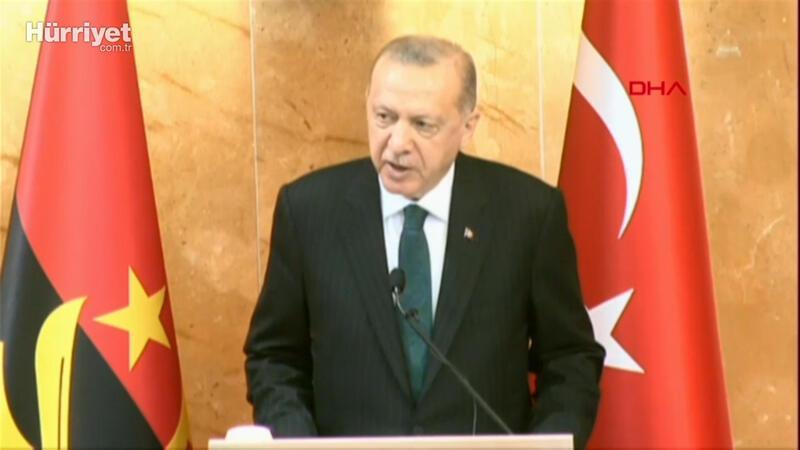 Cumhurbaşkanı Erdoğan, Angola Meclisi'ne hitap etti