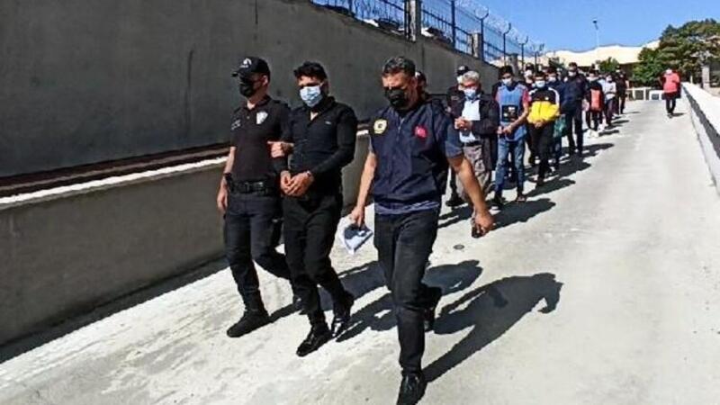 Mersin'de terör operasyonu: 11 gözaltı
