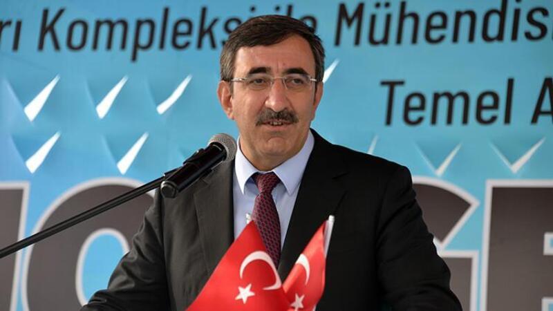 TBMM Plan ve Bütçe Komisyonu Başkanı Cevdet Yılmaz, Bingöl'de düzenlenen temel atma törenine katıldı