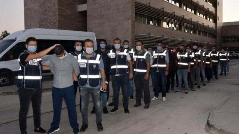 Antalya'da 'Kartal Grubu'na 'Vurgun' operasyonu: Gözaltılar var
