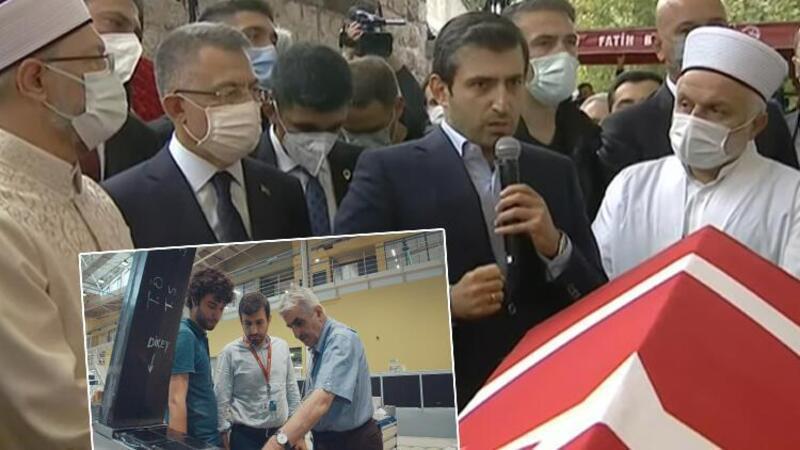 SİHA'ların öncü ismi Özdemir Bayraktar'a veda! Selçuk Bayraktar: En yakın dava ve yol arkadaşımızdı