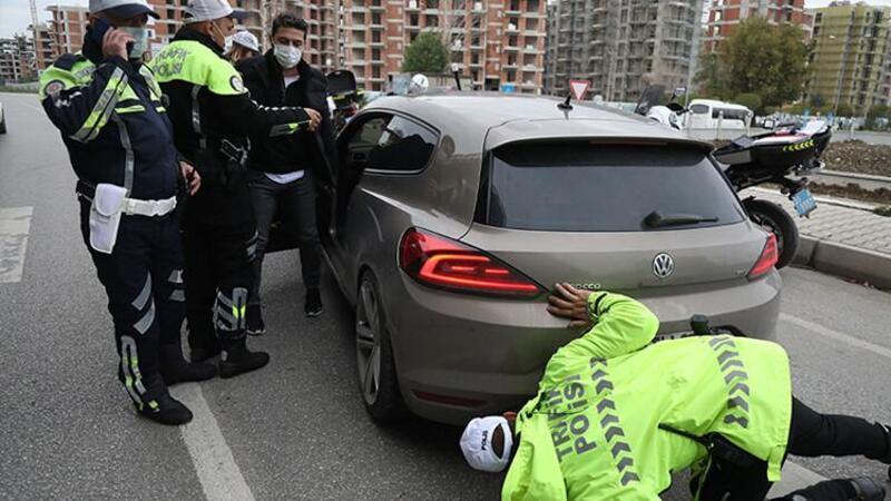 """Otomobilini satın aldıktan 1,5 saat sonra """"modifiyeli araç"""" uygulamasında ceza yedi"""