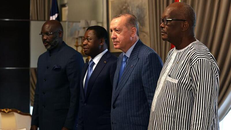 Cumhurbaşkanı Erdoğan'dan Afrika'da dörtlü zirve
