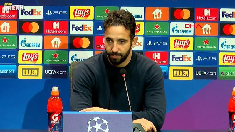 Ruben Amorim: Zor bir maç olacağını biliyorduk
