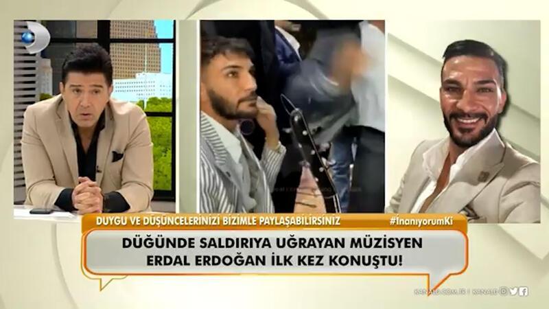 """Düğünde saldırıya uğrayan müzisyen Erdal Erdoğan ilk kez """"Neler Oluyor Hayatta""""ya konuştu!"""