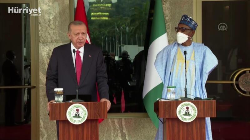 Cumhurbaşkanı Erdoğan, Nijerya'da konuştu