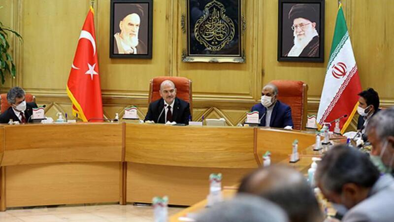 İçişleri Bakanı Soylu, İranlı mevkidaşı Vahidi ile görüştü
