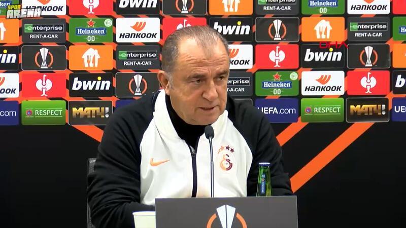 Galatasaray Teknik Direktörü Fatih Terim,  Lokomotiv Moskova maçı öncesi konuştu