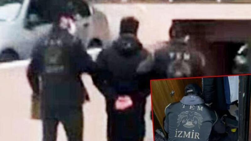 İzmir'de terör operasyonu: HDP'li ilçe başkanları da gözaltında