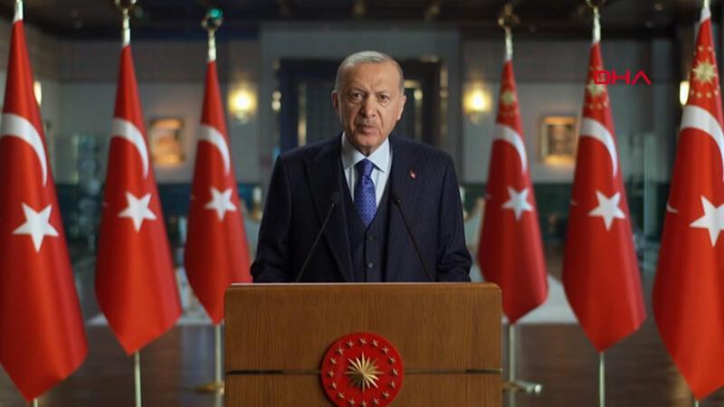 Cumhurbaşkanı Erdoğan'ın Bölgesel Finans Konferansı'na gönderdiği video mesaj
