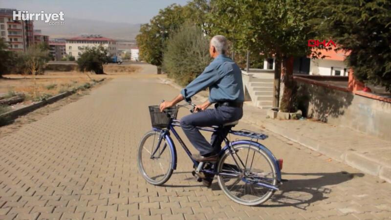 25 yıldır aynı bisikleti kullanıyor