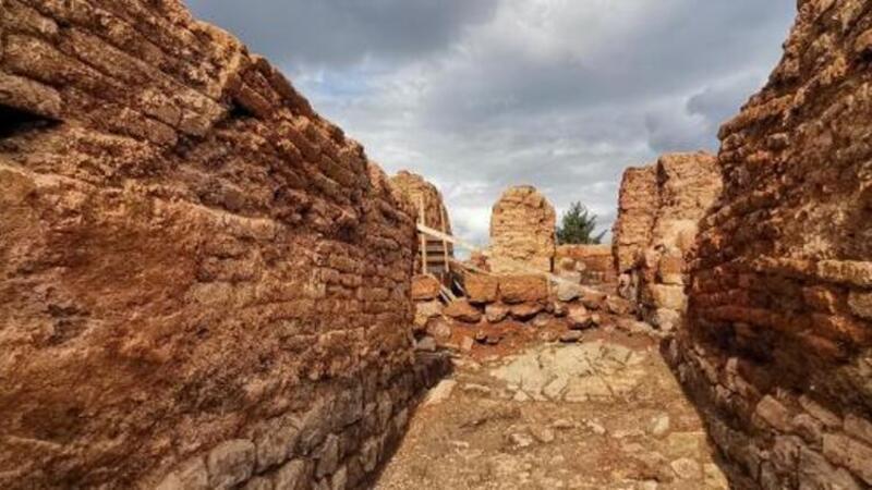 Kurul Kalesi'ndeki kazılarda yeni girişe ulaşıldı