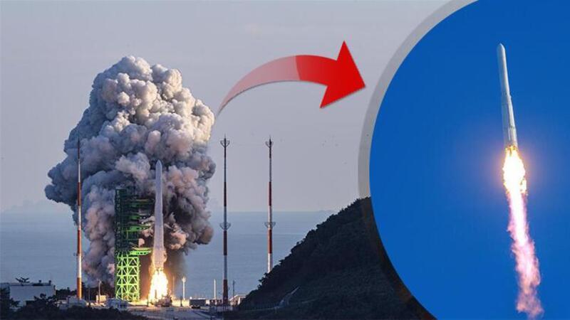 Güney Kore, ilk yerli roketini uzaya gönderdi