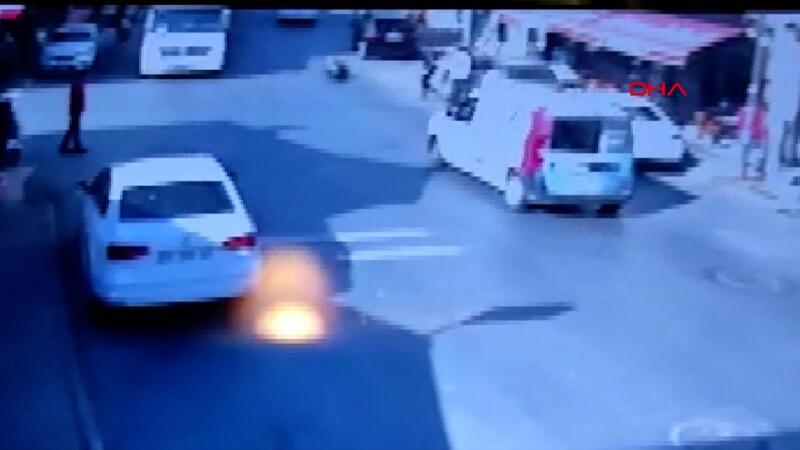 Sarıyer'de silahlı saldırı 2 yaralı