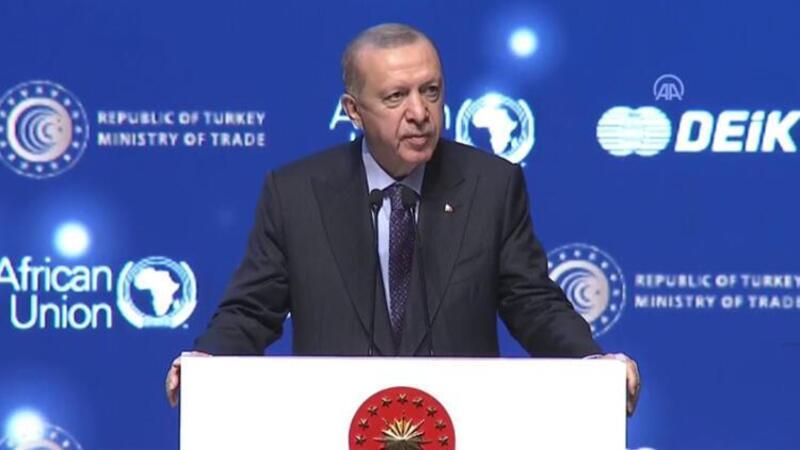 Cumhurbaşkanı Erdoğan, Türkiye - Afrika Ekonomi ve İş Forumu'nda açıklamalarda bulundu