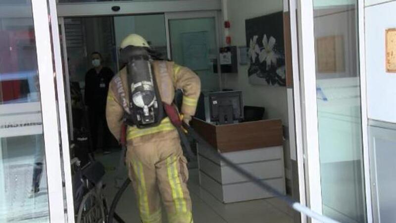 Bahçelievler'de hastanenin bodrum katında yangın! Hastalar tahliye edildi