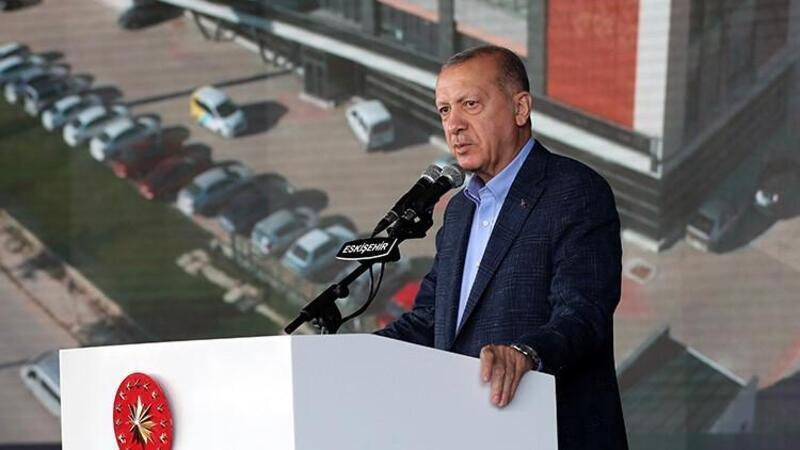 Cumhurbaşkanı Erdoğan, Eskişehir'deki resmi açılış töreninde açıklamalarda bulundu